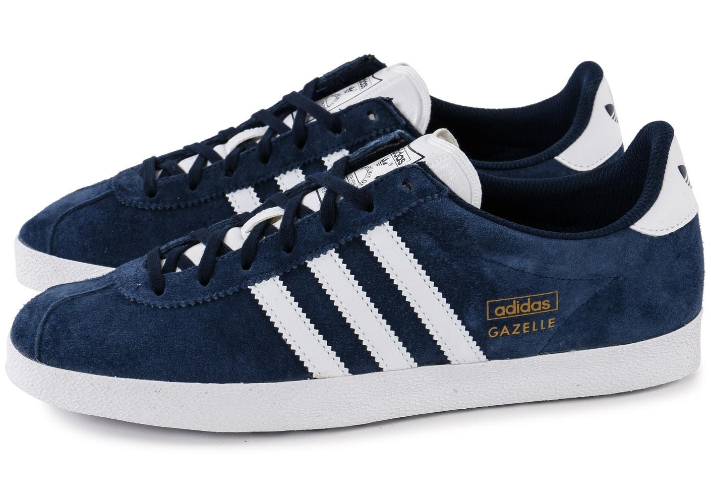 adidas gazelle homme bleu 42
