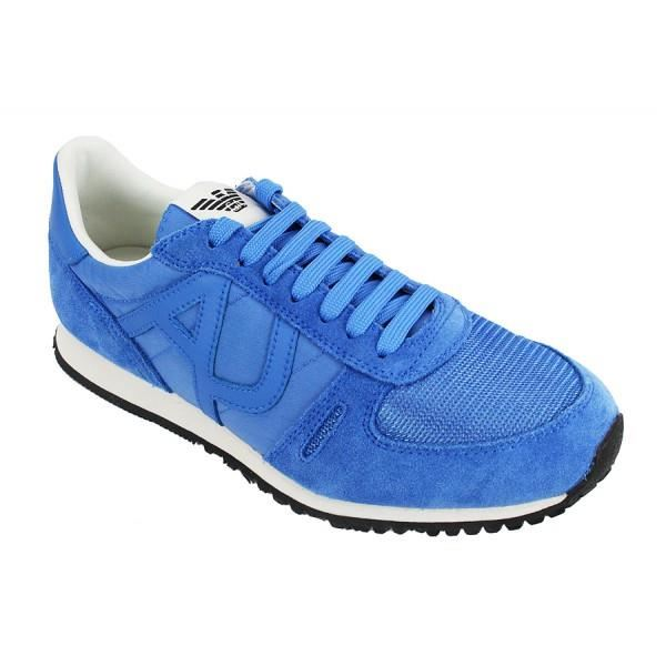 Réduction de prix Noir chaussure armani jeans bleu Se Unisex Cuir ... 3780888514d